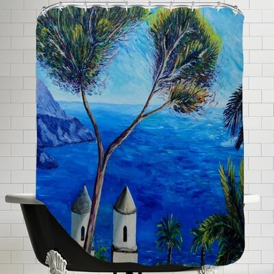Markus Bleichner Alanis Amalfi Coast II Shower Curtain