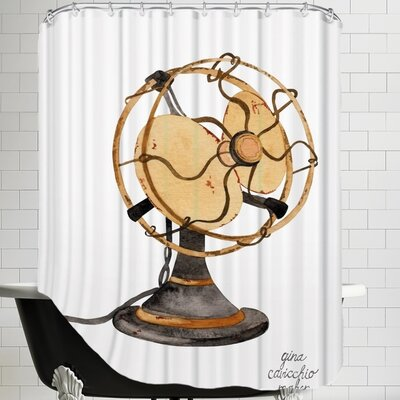 Gina Maher Burlison Shower Curtain