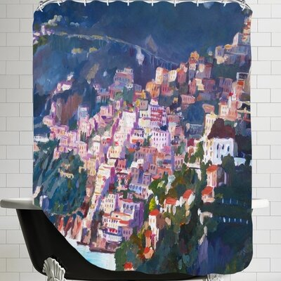 Markus Bleichner Warlick Amalfi Coast I Shower Curtain