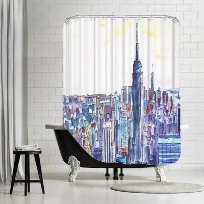 Markus Bleichner Balderrama NYC Manhattan Skyline Neu Shower Curtain