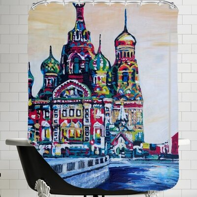 Markus Bleichner Glowacki Saint Petersburg Shower Curtain