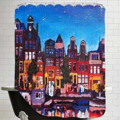 Markus Bleichner Balcom Amsterdam Stars 2 Shower Curtain