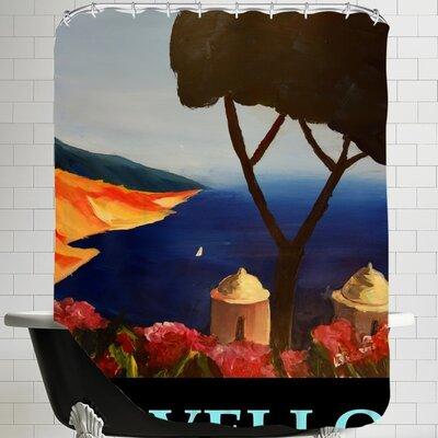 Markus Bleichner Ravello Amalfi Italy Poster Shower Curtain