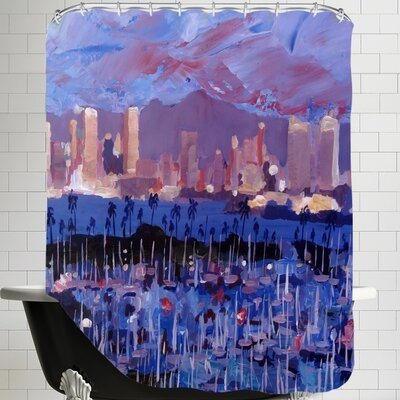 Markus Bleichner San Diego Shower Curtain