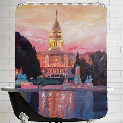 Markus Bleichner Washington Capitol 1 Shower Curtain