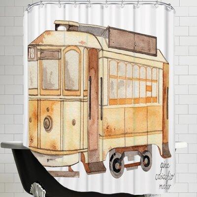 Gina Maher Mcroberts Street Car Shower Curtain
