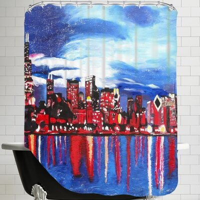Markus Bleichner Bracey 1 Shower Curtain