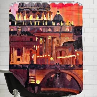Markus Bleichner Rome 1 Shower Curtain