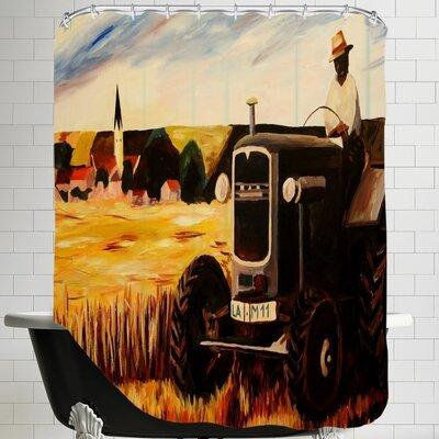 Markus Bleichner The Farmer Shower Curtain