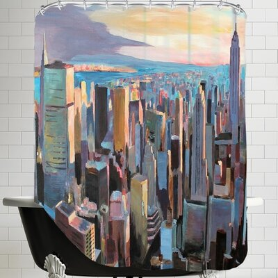 Markus Bleichner Scates NYC Sunlight 2 Shower Curtain