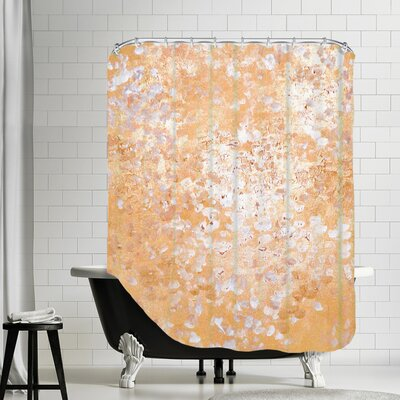 Vangundy Shower Curtain Color: Gold