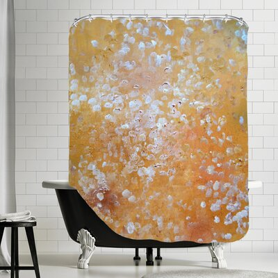 Vangundy Shower Curtain Color: Yellow