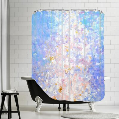 Vangundy Shower Curtain Color: Royal