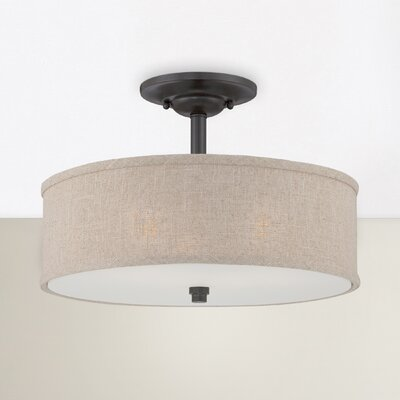 Havens 3-Light Semi Flush Mount