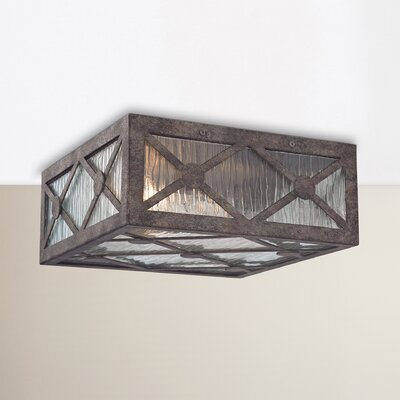 Dailey 2-Light Flush Mount