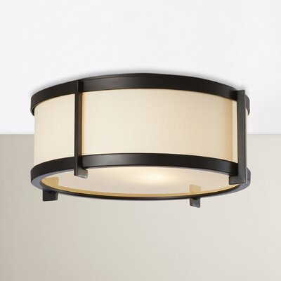 Strope 2-Light Flush Mount