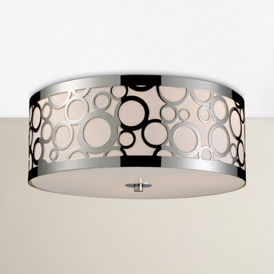 Buono 3-Light Flush Mount