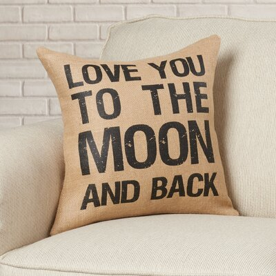 Siefert Moon and Back Throw Pillow