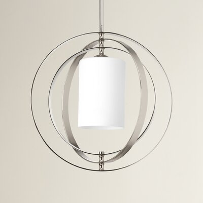 Morganti 1-Light Foyer Pendant Size: 16 x 16.75