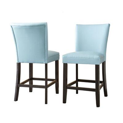 Mcneel Parsons Chair (Set of 2) Upholstery: Aqua