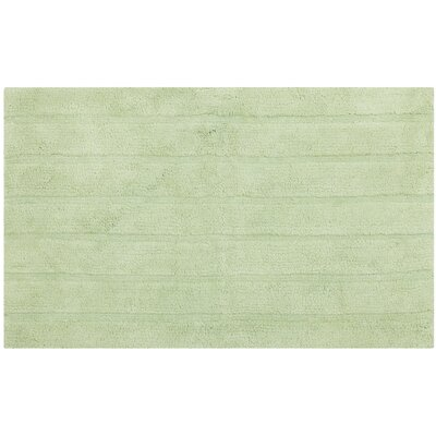 Tauber Master Bath Rug Size: 23 x 39, Color: Light Green