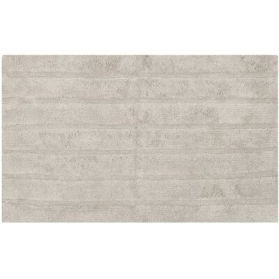Tauber Master Bath Rug Size: 23 x 39, Color: Grey
