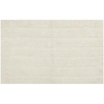 Tauber Master Bath Rug Size: 23 x 39, Color: Vanilla