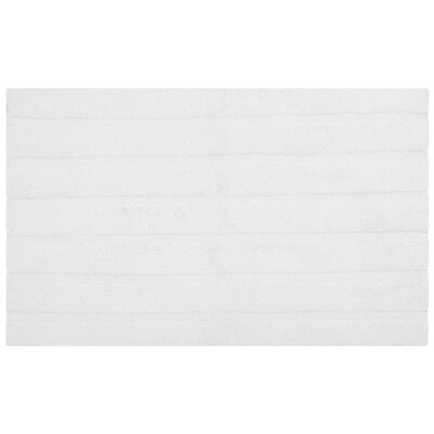 Tauber Master Bath Rug Size: 23 x 39, Color: White