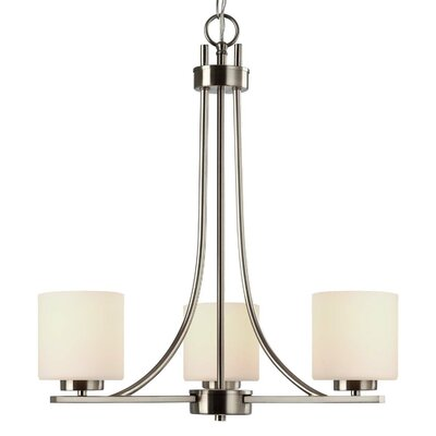 Curto 3-Light Shaded Chandelier