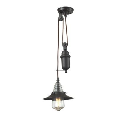 Cearley 1-Light Mini Pendant Finish: Oil Rubbed Bronze