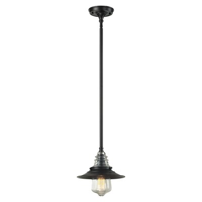 Cearley 1-Light Mini Pendant Finish: Oiled Bronze