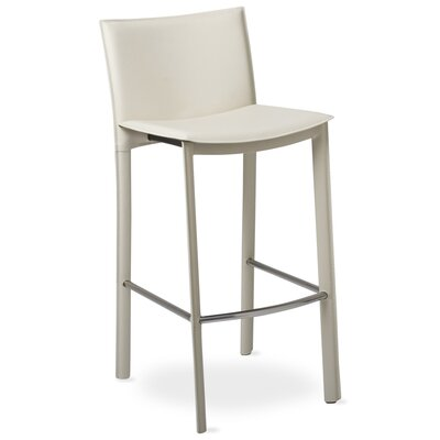 Berggren 30 inch Bar Stool Color: Ivory