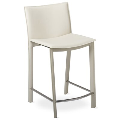 Berggren 24 Bar Stool Upholstery: Ivory