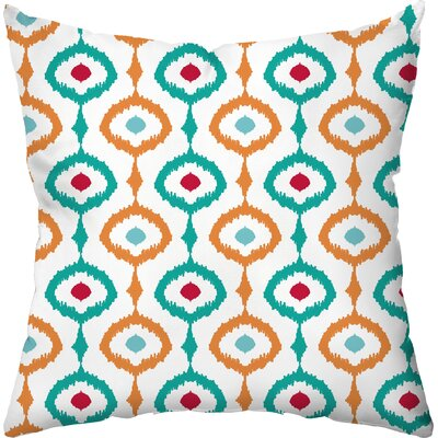 Koenig Outdoor Throw Pillow Color: Tropical