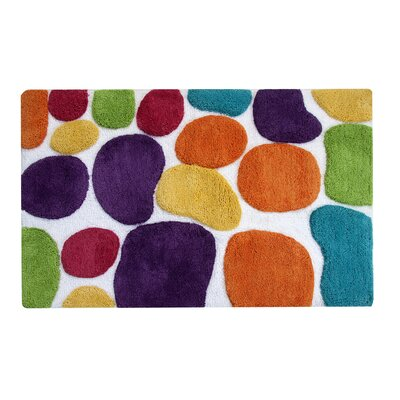 Gallager Brights Bath Runner Color: Rainbow Multi
