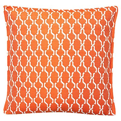 Render Outdoor Throw Pillow (Set of 2) Color: Tangerine