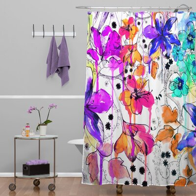 Nolting Lost in Botanica Shower Curtain