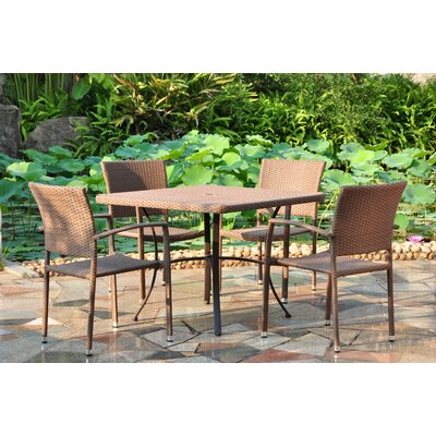 Katzer 5 Piece Dining Set