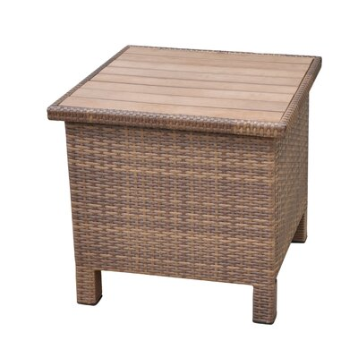 Katzer Side Table Finish: Antique Brown
