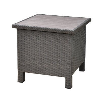 Katzer Side Table Finish: Black Antique