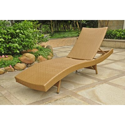 Katzer Chaise Lounge Finish: Honey Pecan