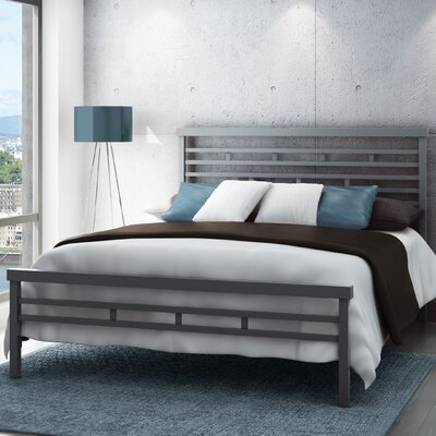 Callender Panel Bed Size: Full, Finish: Magnetite