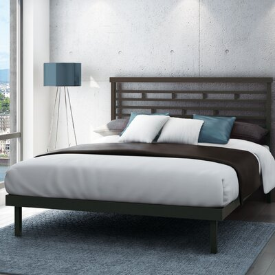 Fobbs Platform Bed Size: Queen, Finish: Glossy Grey