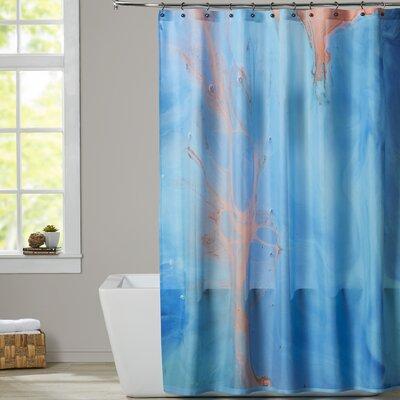 Deb McNaughton Golden Effect Shower Curtain
