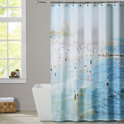 Mina Teslaru Peeps Dips Shower Curtain