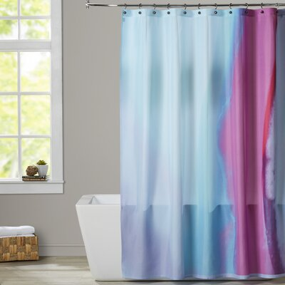 Deb McNaughton Up Close and Pink 2 Shower Curtain