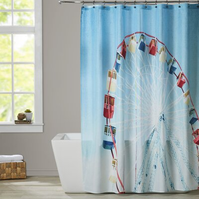Mina Teslaru Jersey Ferris Shower Curtain
