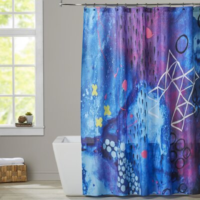 Deb McNaughton X Marks the Spot Shower Curtain
