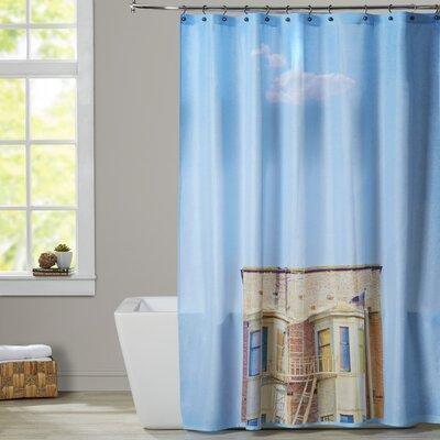 Mina Teslaru Lonely Skies San Francisco Shower Curtain