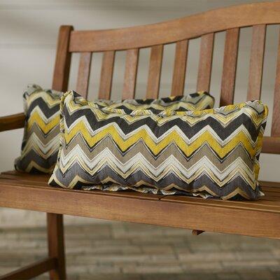 Pursley Indoor/Outdoor Lumbar Pillow